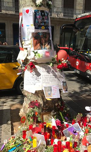 Ramblas de Barcelona, in memoriam, agosto 2017 | Hebe Prado |#No Tinc Por
