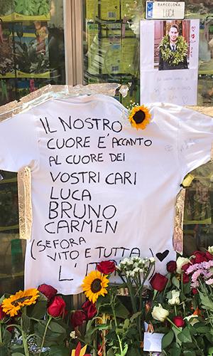 Rambla de Barcelona, agosto de 2017, in memoriam de las víctimas | Hebe Prado |#No Tinc Por