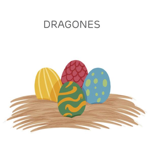 DRAGONES CUENTO HEBE PRADO