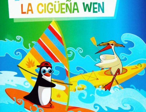 EL PINGÜINO MAX Y LA CIGÜEÑA WEN